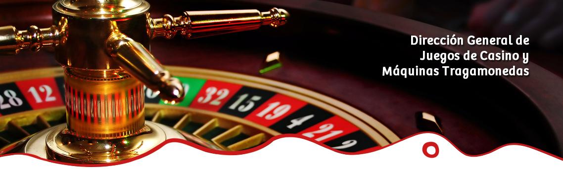 direccion general de casino y maquinas tragamonedas